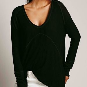 Free People Sunset Park Thermal Long Sleeve